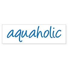 aquaholic - 1 Bumper Bumper Sticker