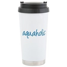 aquaholic - 1 Travel Mug