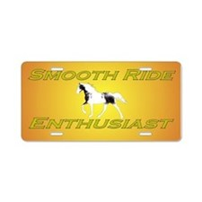 Smooth Ride Enthusiast Aluminum License Plate