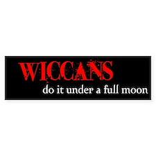 Wiccan Bumper Bumper Sticker