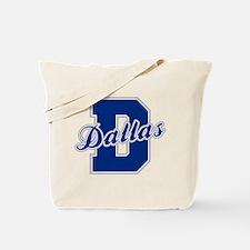 Dallas Letter Tote Bag