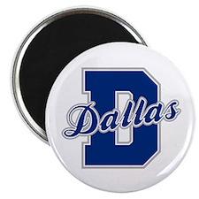 Dallas Letter Magnet