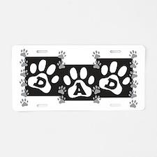 Pet Dad Aluminum License Plate