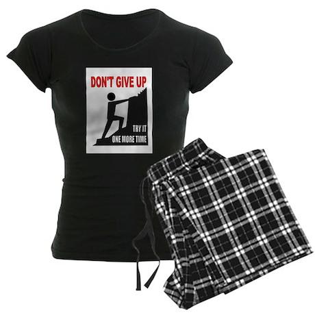 YOU CAN DO IT Women's Dark Pajamas