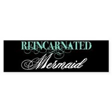 reinc mermaid Bumper Bumper Sticker