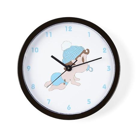 Sweet Little Baby (Boy) Wall Clock