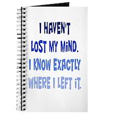 Lost My Mind Journal