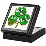 Kiss Me I'm Irish Keepsake Box