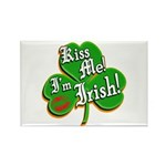 Kiss Me I'm Irish Rectangle Magnet (100 pack)