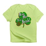 Kiss Me I'm Irish Infant T-Shirt