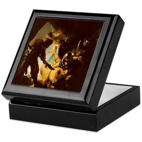 Rembrandt The Blinding Of Samson Keepsake Box