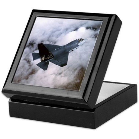 F35 Joint Strike Fighter Cool Keepsake Box
