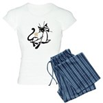 Siamese Cat Royalty Women's Light Pajamas