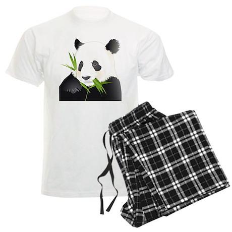 Panda Bear Men's Light Pajamas
