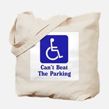 Can't Beat the Parking Tote Bag