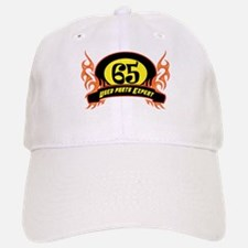 65th Birthday Baseball Baseball Cap