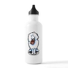 American Eskimo Dog Sports Water Bottle