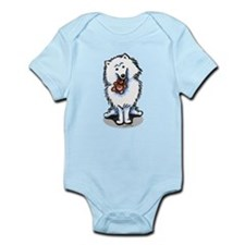 American Eskimo Dog Infant Bodysuit