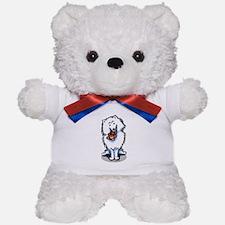 American Eskimo Dog Teddy Bear
