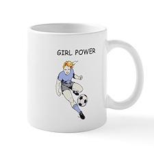 Girl Power, Blue Mug