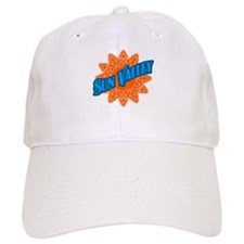Sun Valley Orange Sun Baseball Cap