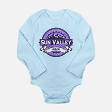 Sun Valley Lavender Long Sleeve Infant Bodysuit