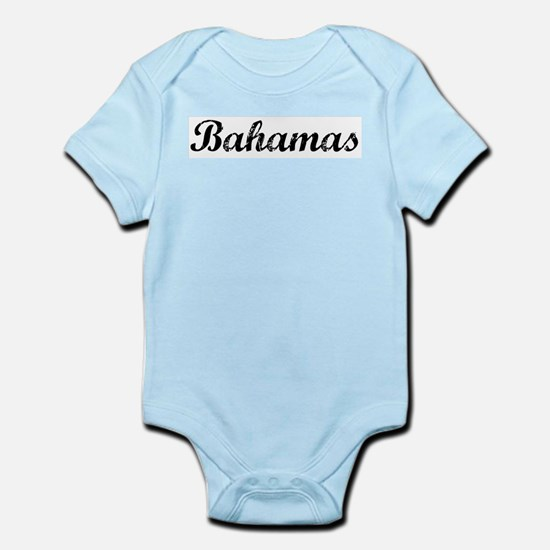 Vintage Bahamas Infant Creeper