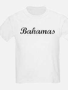 Vintage Bahamas Kids T-Shirt