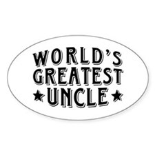 World's Greatest Uncle Decal