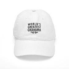 World's Greatest Grandma Baseball Cap