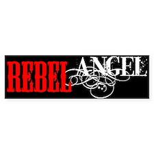 Rebel Angel Bumper Bumper Sticker