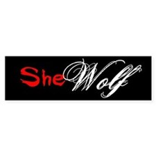 She Wolf Bumper Bumper Sticker