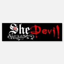 She Devil Bumper Bumper Bumper Sticker