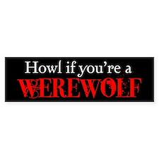 Werewolf Bumper Bumper Sticker
