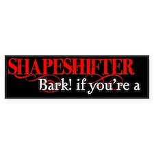 Shapeshifter Bumper Bumper Sticker
