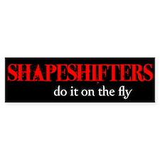 Shapeshifters Bumper Bumper Sticker