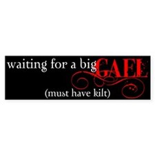 Funny Gael Bumper Sticker