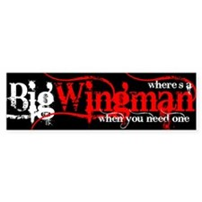 Big Wingman Bumper Bumper Sticker
