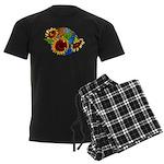 Sunflower Planet Men's Dark Pajamas
