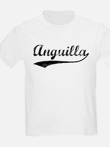 Vintage Anguilla Kids T-Shirt