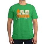 Hell Hath No Fury - Tr Men's Fitted T-Shirt (dark)