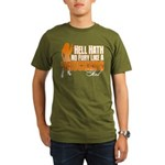 Hell Hath No Fury - T Organic Men's T-Shirt (dark)