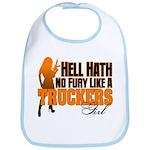 Hell Hath No Fury - Trucker's Girl Bib