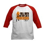 Hell Hath No Fury - Trucker's Kids Baseball Jersey