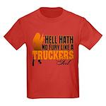 Hell Hath No Fury - Trucker's Gi Kids Dark T-Shirt