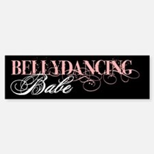 Belly Dancing Bumper Car Car Sticker