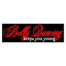 Belly Dancing Bumper Car Sticker