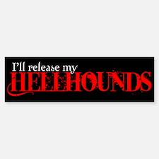Hellhounds Bumper Bumper Bumper Sticker