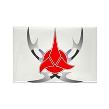 Klingon Emblem Rectangle Magnet