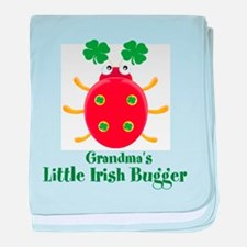 Irish Bugger/Grandma baby blanket